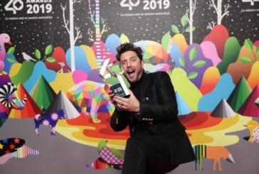 El artista isleño Manuel Carrasco gana el premio a la mejor gira en LOS40 Music Awards