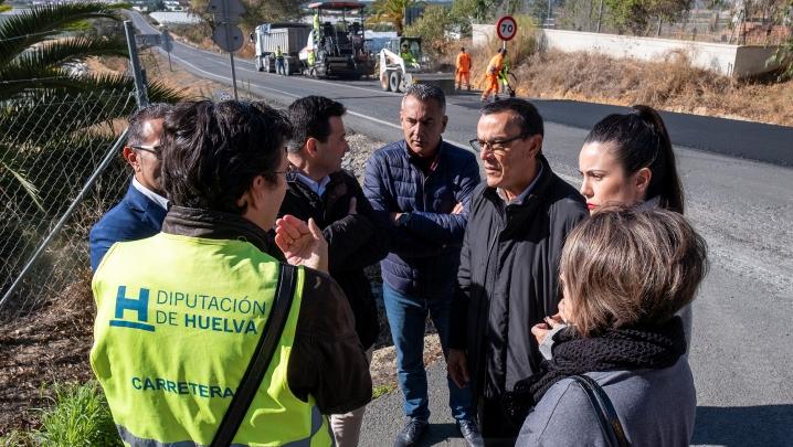 Comienzan las obras de la carretera de La Redondela