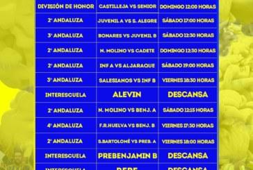 Partidos fin de semana cantera Isla Cristina FC