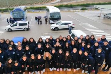 Huelva cosecha dos victorias y un empate en fútbol y futsal femenino