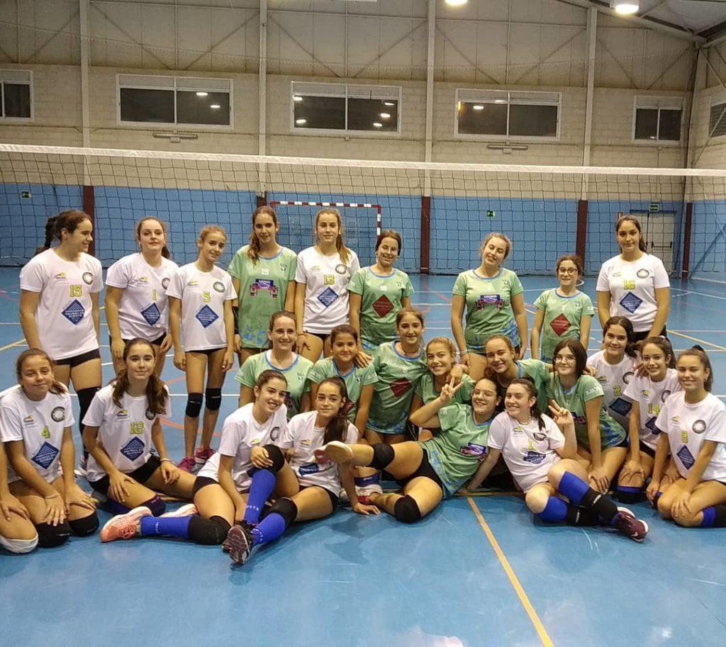 Resultados fin de semana Club Voleibol Isla Cristina Vic
