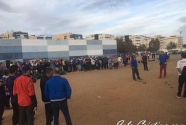 Más de trescientos jugadores se han dado cita este fin de semana en Isla Cristina en el VII Open Interncaional de Petanca