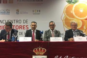 Inaugurado el IV Encuentro de Citricultores de Provincia de Huelva que se celebra en Isla Cristina