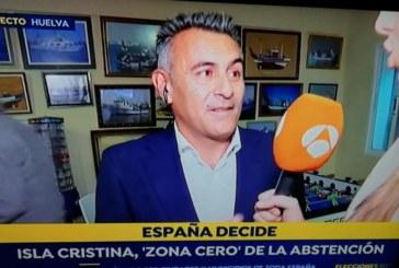 Isla Cristina, 'zona cero' de la abstención