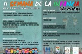 Programación «II Semana de la Infancia» Isla Cristina