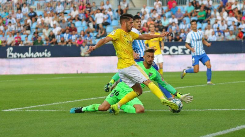 El delantero isleño Caye: candidato al mejor gol de 2019
