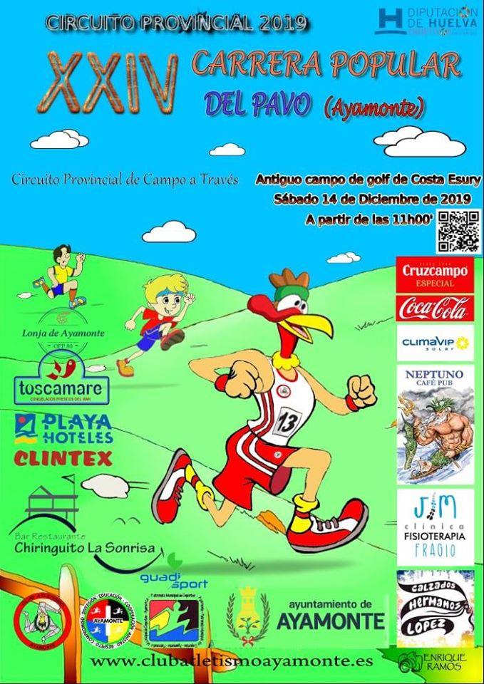 Ayamonte celebra la XXIV Carrera Popular del Pavo