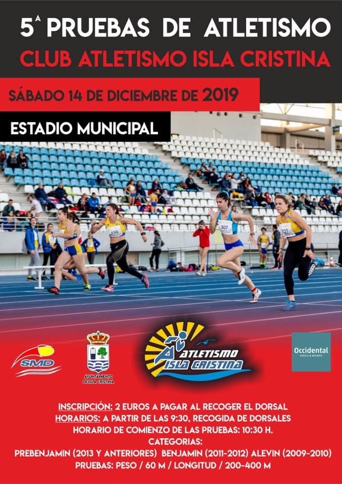 5ª Pruebas del Club Atletismo Isla Cristina