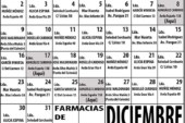 Farmacias de Guardia en Isla Cristina para el mes de Diciembre 2019
