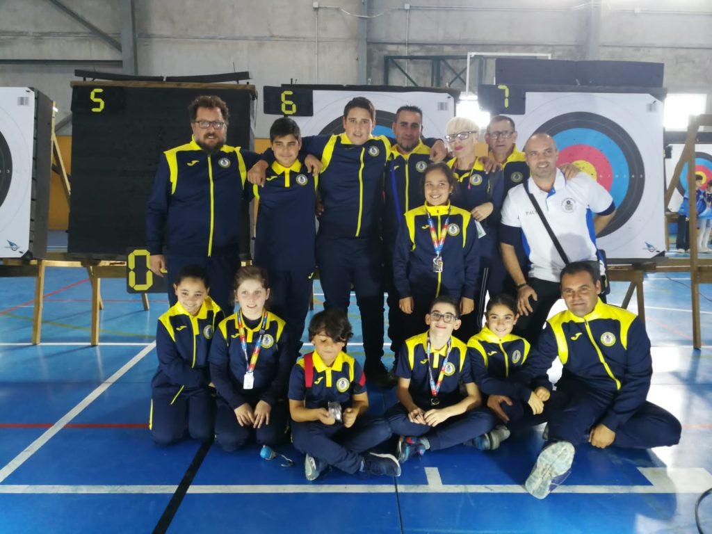 Buena participación del Club Deportivo de tiro con arco de Isla Cristina 'La Flecha Isleña'