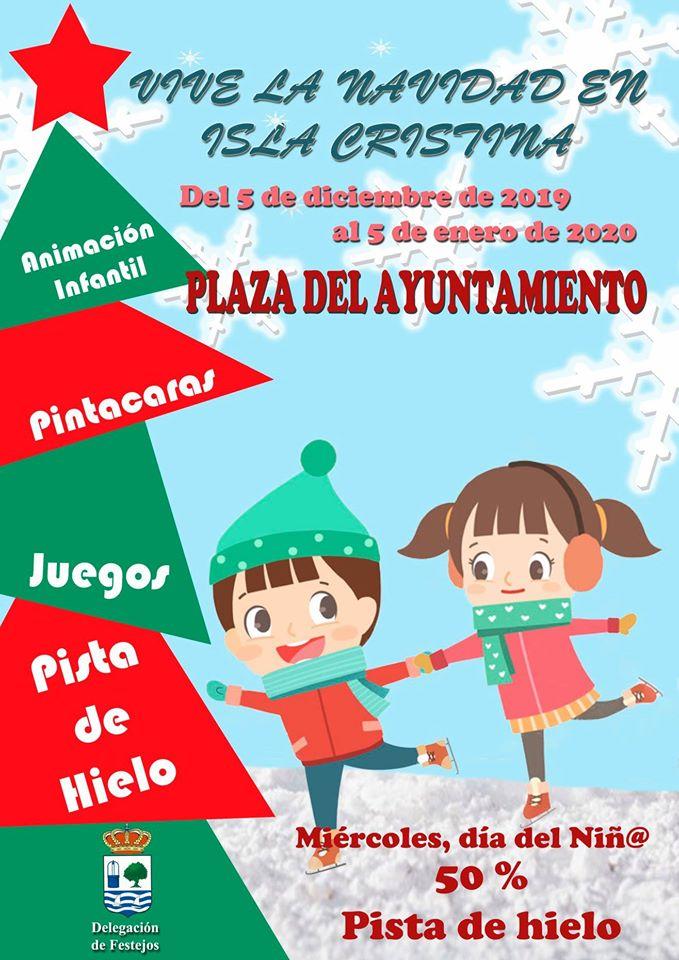 Vive la Navidad en Isla Cristina