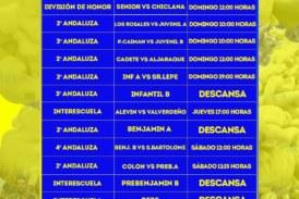 Agenda futbolera Isla Cristina FC