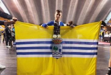Éxito del luchador isleño Miguel Pérez en Oviedo