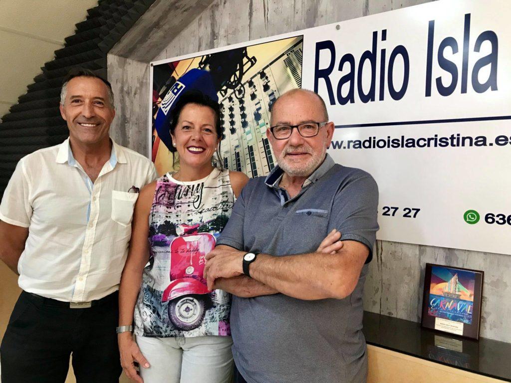 Flamenco, Arati o el Mercado Solidario en «las mañanas» de Radio Isla Cristina