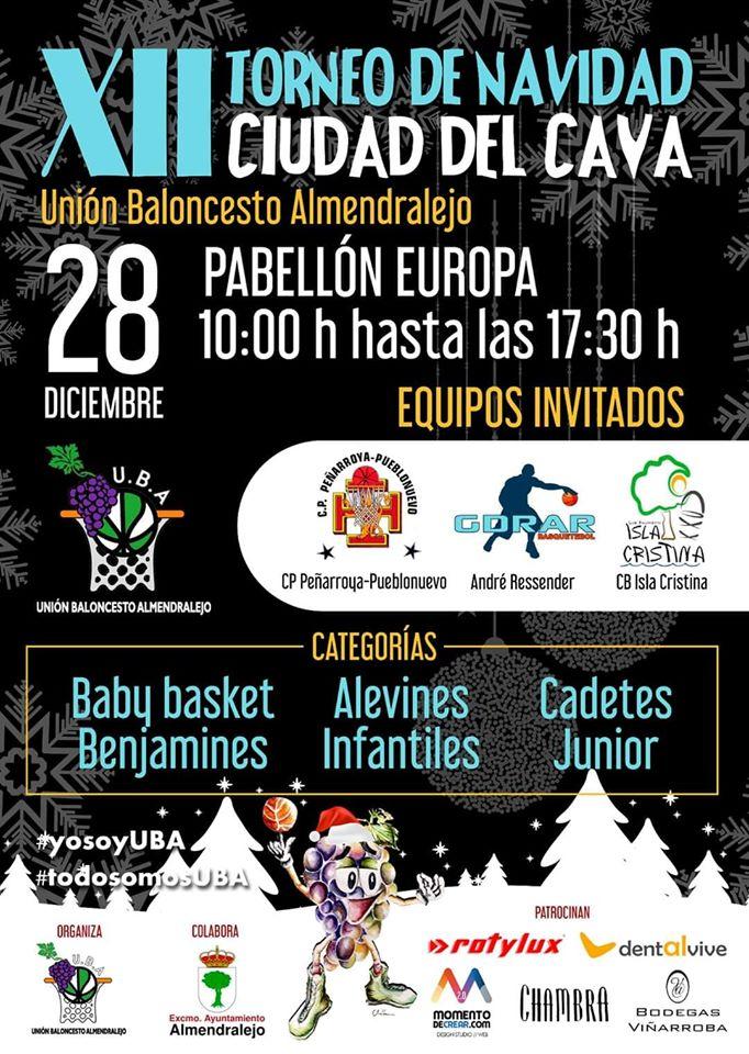 El Club Baloncesto Isla Cristina Participa en el XII Torneo de Navidad Ciudad Del Cava