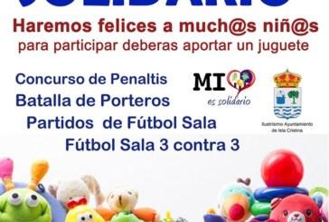 Fútbol Solidario en el Pabellón «El Batel» de Isla Cristina
