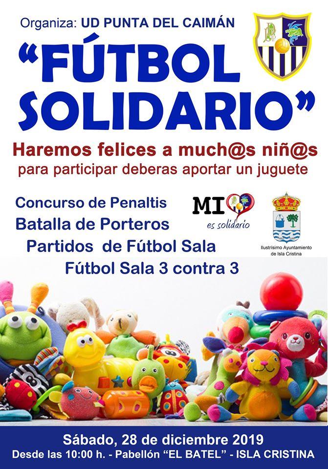 Fútbol Solidario en el Pabellón