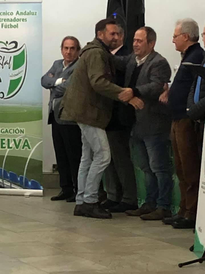 El Fútbol isleño premiado en la Asamblea del Comité de Entrenadores en Huelva