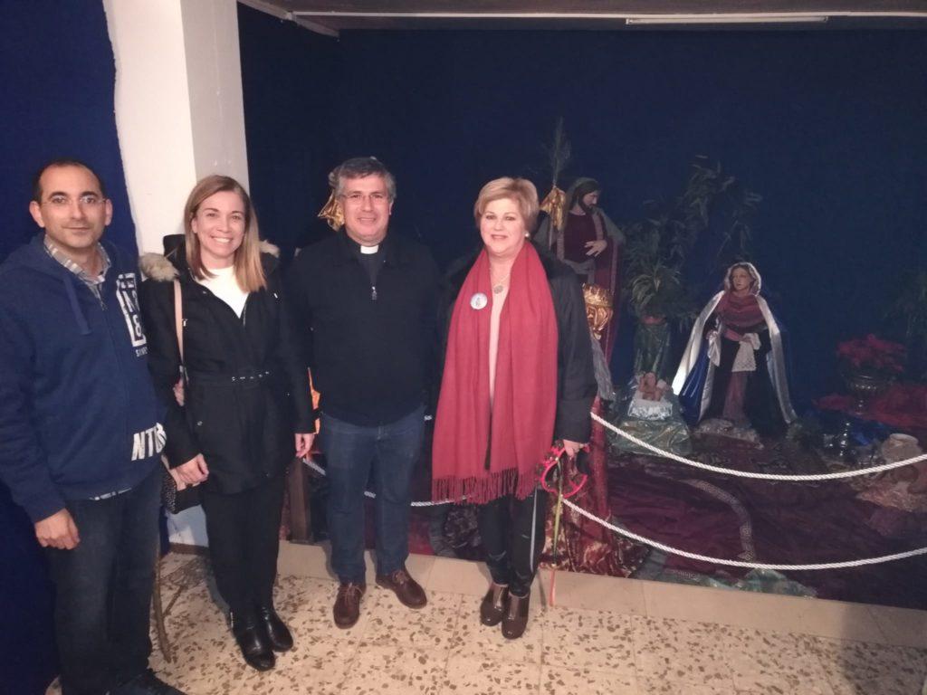 Inaugurado y bendecido el Nacimiento de la Hermandad de la Virgen del Mar