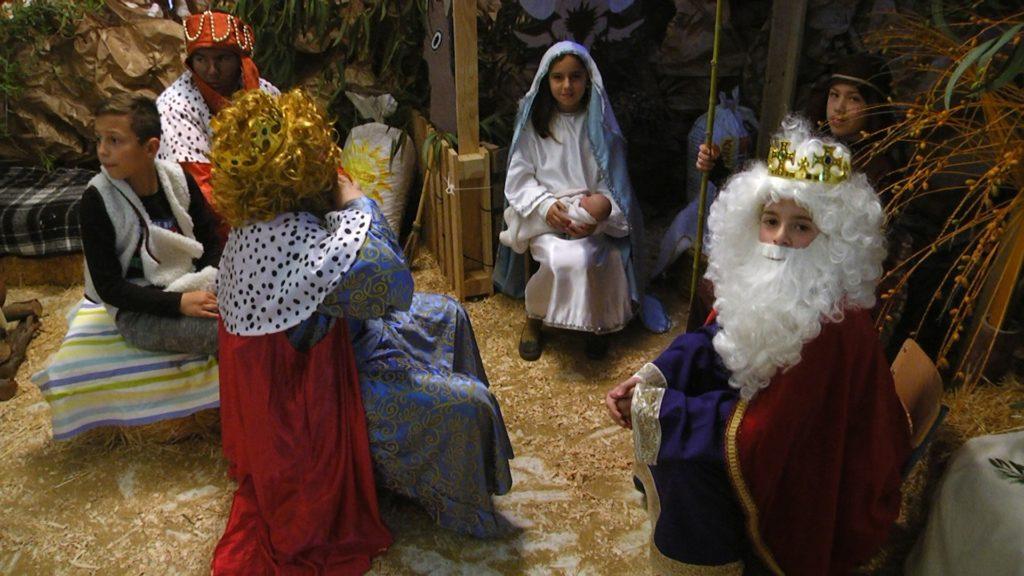 Inaugurado el Belén Viviente del CEIP 'La Higuerita' de Pozo del Camino