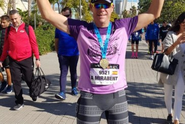 Gran participación de Antonio Mirabent en el Maratón de Valencia