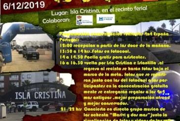 Isla Cristina acoge la «II KDD Concentración y Exposición 4X4»
