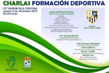 Charlas Formación Deportiva en el CIT GARUM de Isla Cristina