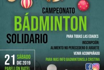 Campeonato de Bádminton Solidario