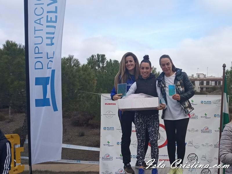 Pedro Rebollo y Gema Morales ganan la Carrera del Pavo de Ayamonte