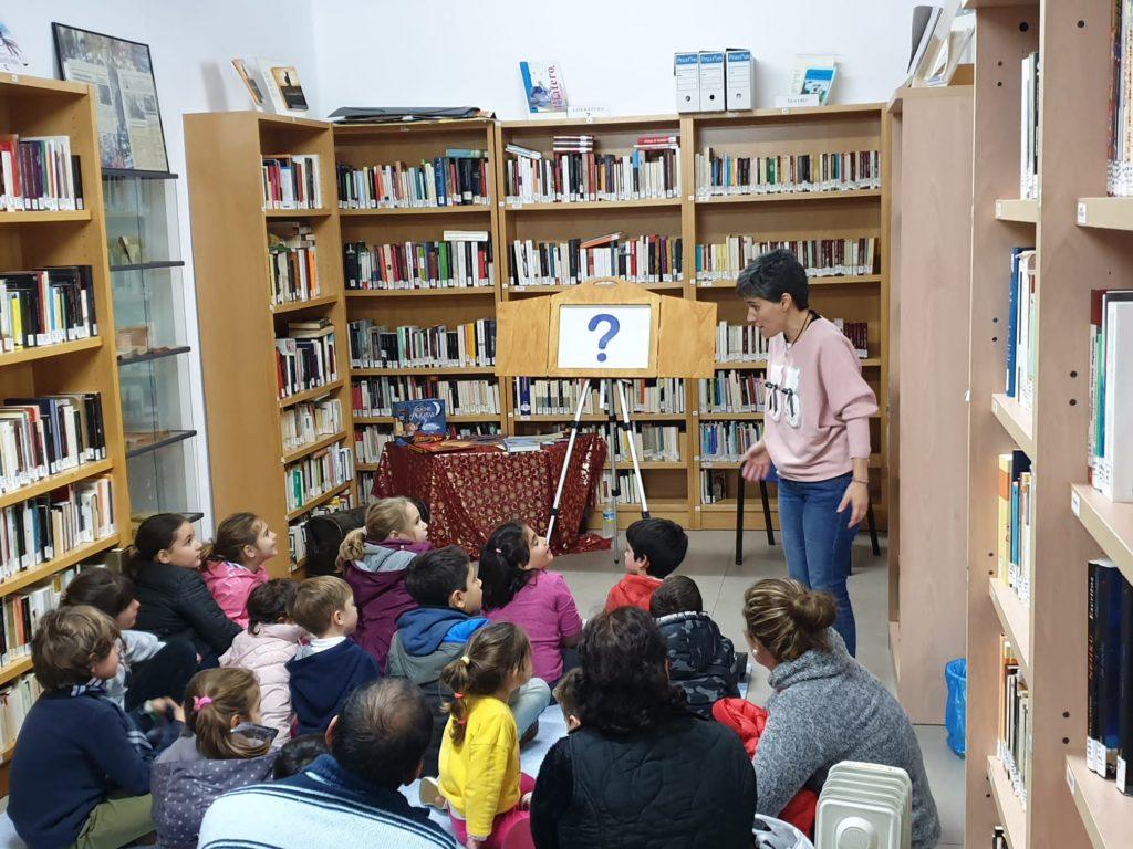 La ruta de cuentos y talleres de la campaña #Huelvalee+ llega a las Bibliotecas de dieciséis municipios de la provincia