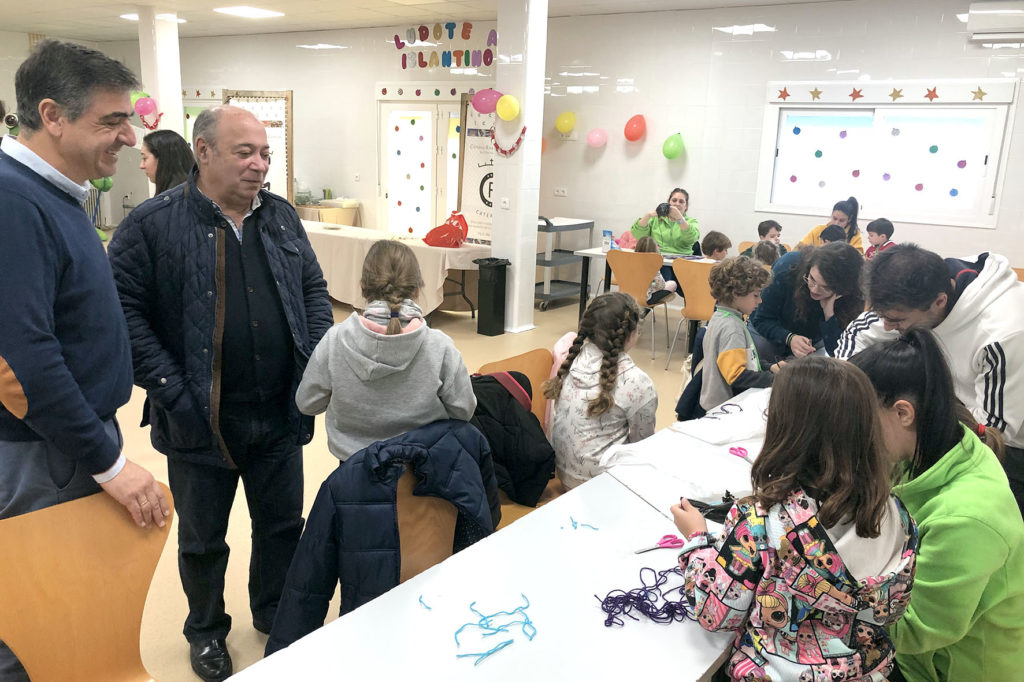 Visita a la Ludoteca Centro Vacacional Islantino