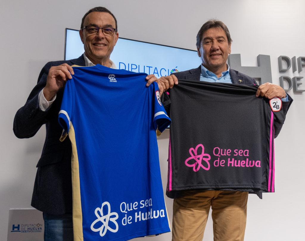 El Recreativo de Huelva, embajador de la campaña 'Que sea de Huelva'