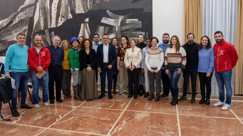 Diputación entrega 246.000 euros en ayudas a diez ONG de la provincia