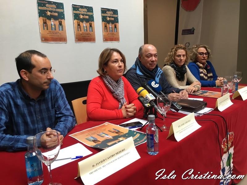 Presentada en Isla Cristina la Campaña 'Ningún Niño sin un Juguete'