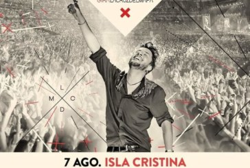 'La Cruz Del Mapa 2020' de Manuel Carrasco llegará el 7 de agosto a Isla Cristina
