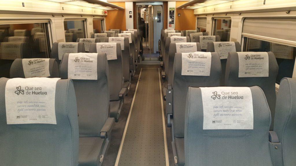 Huelva invita a los viajeros del AVE Madrid-Sevilla a conocer los atractivos de la provincia durante el puente