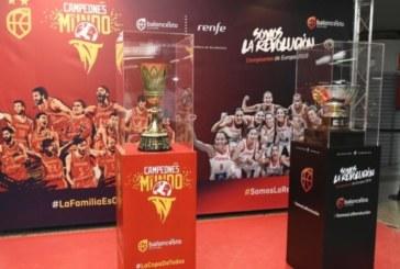 Las copas de Campeón del Mundo masculino y de Europa femenina visitarán nuestra provincia