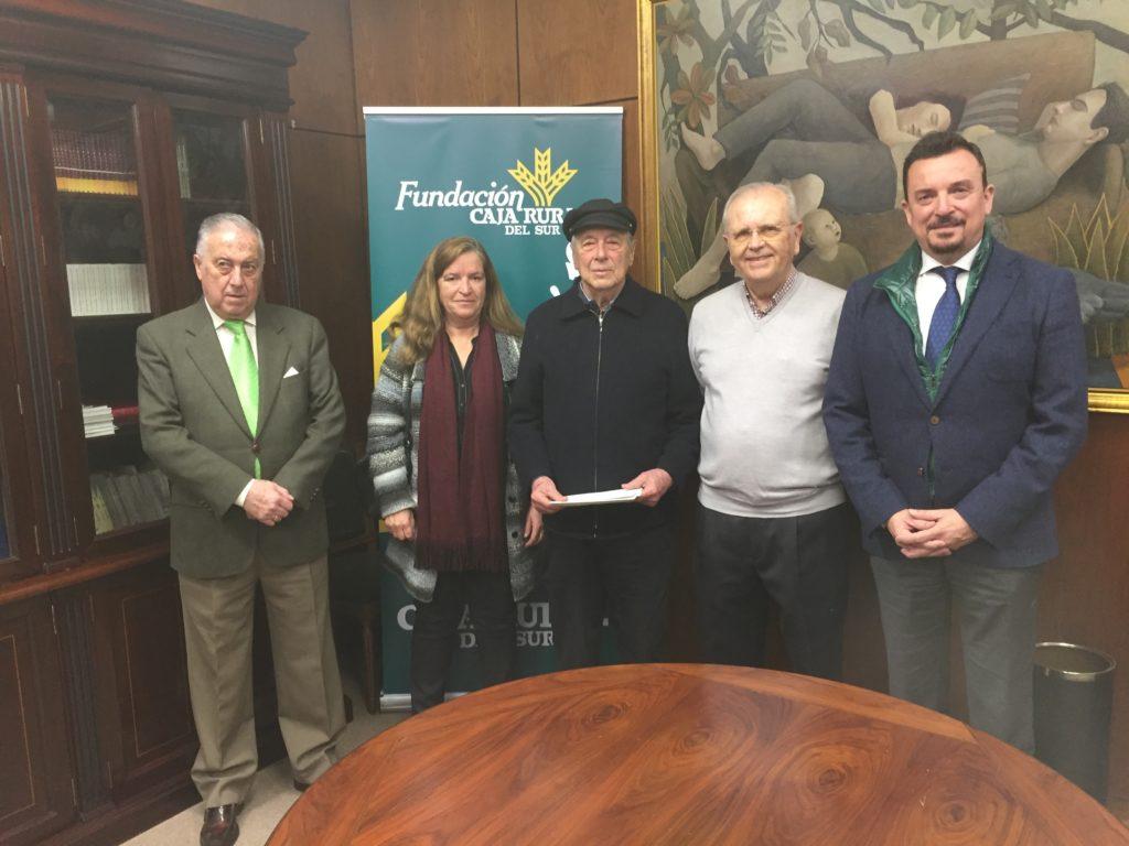 El Taller de Arteterapia y la Fundación Caja Rural del Sur entregan lo recaudado a entidades solidarias