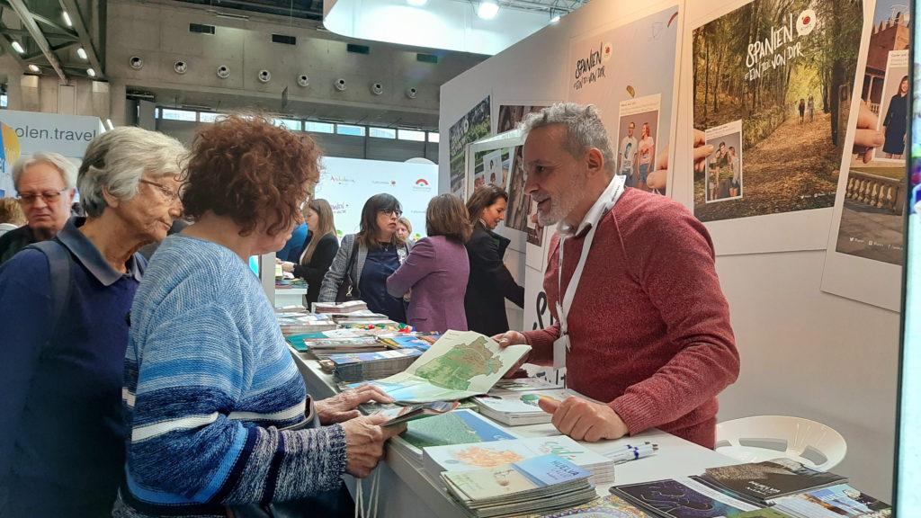 El Patronato de Turismo promociona la provincia de Huelva en la Feria Internacional de Viena