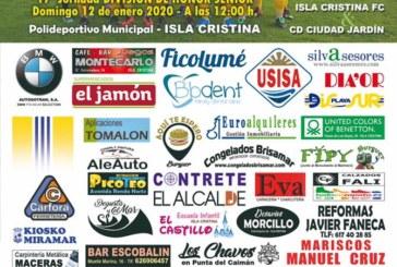 El Ciudad Jardín, primer rival de 2020 para el Isla Cristina
