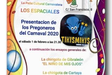 Entrega Premio Manuel Fragoso 'El Patitas' y Presentación de los Pregoneros del Carnaval