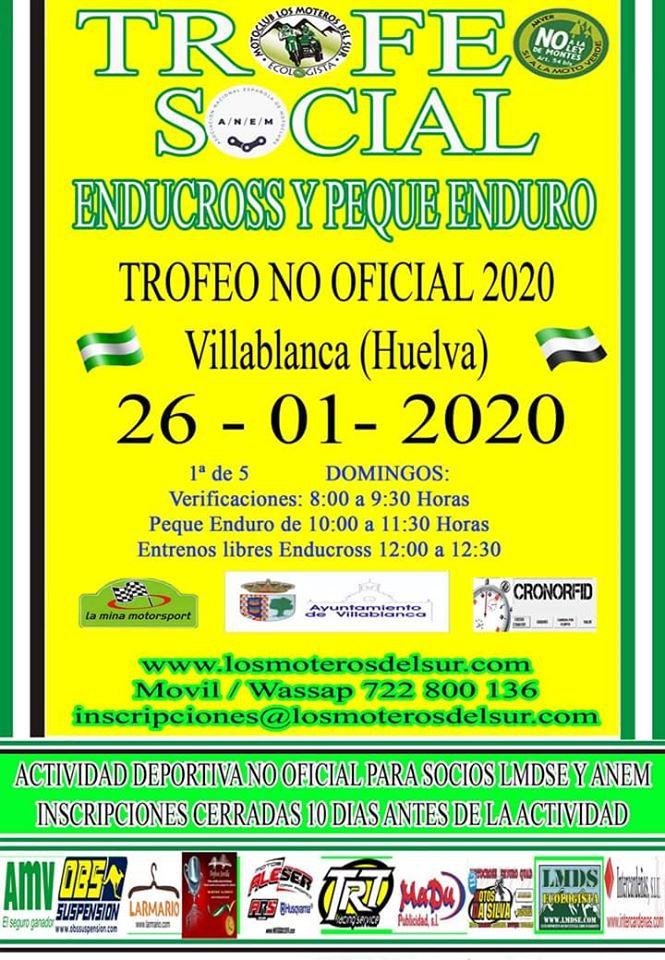 Motocross en Villablanca