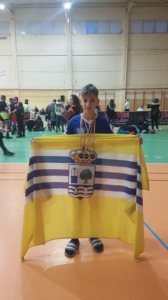 Gran actuación del luchador isleño Miguel Pérez en el Open Nacional de Aranjuez