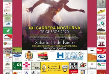 Trigueros celebra la Carrera Nocturna San Antonio Abad