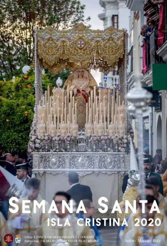 Cartel Anunciador de la Semana Santa de Isla Cristina 2020