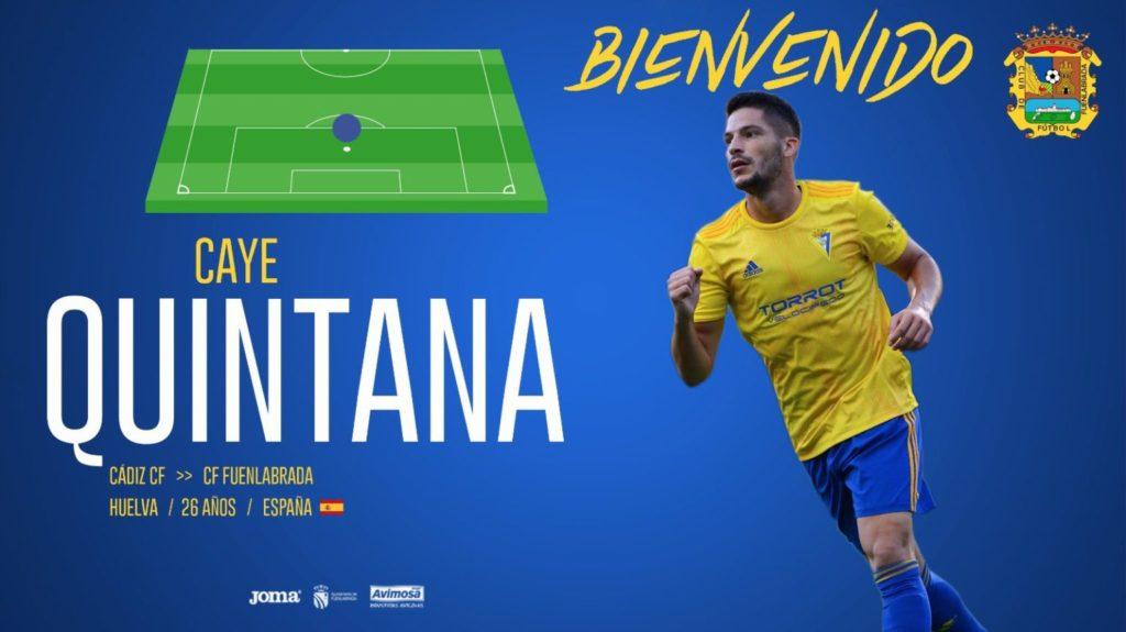 Caye Quintana refuerza el ataque del Fuenlabrada