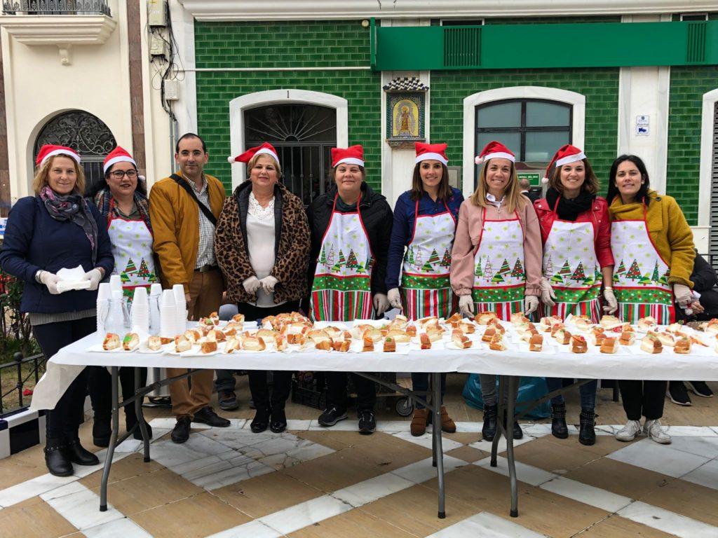 Roscón y chocolate gratis en las tardes navideñas de Isla Cristina