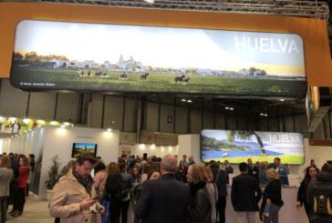 La provincia de Huelva comienza a desplegar en Fitur todos sus atractivos turísticos