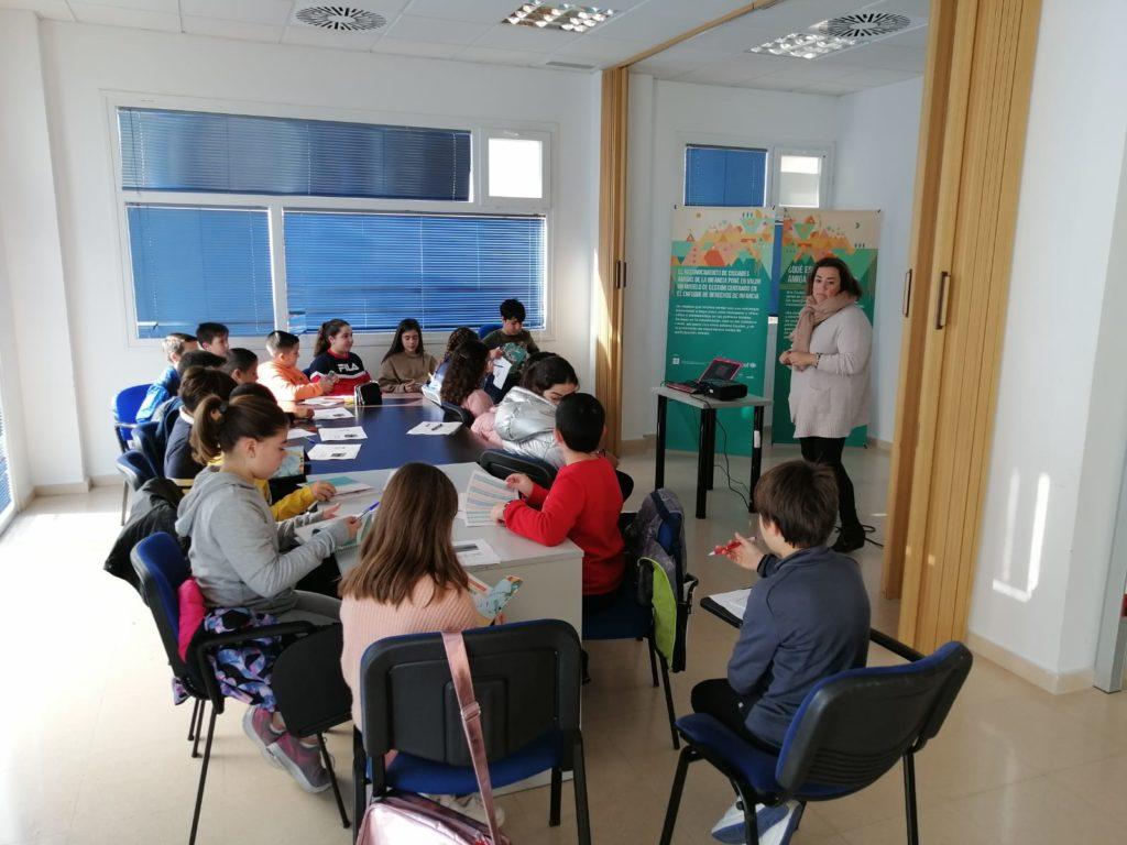 Los niños y niñas del CLIA de Isla Cristina preparan ya el IV Congreso Provincial