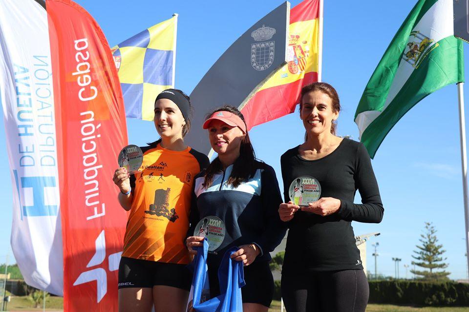 Mahmud Abnu y María José Ruíz ganan la Carrera de Moguer